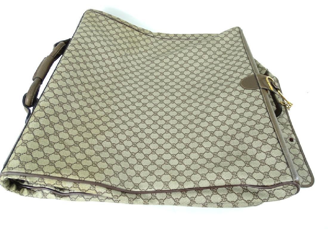 Vintage Gucci Monogram Travel Garment Bag - 6