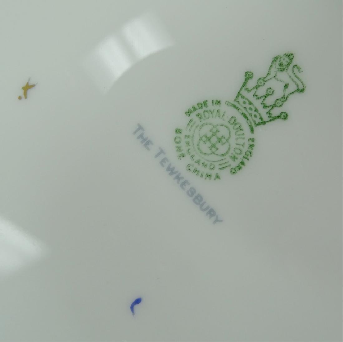"""158pc Royal Doulton """"The Tewkesbury"""" China Set - 7"""