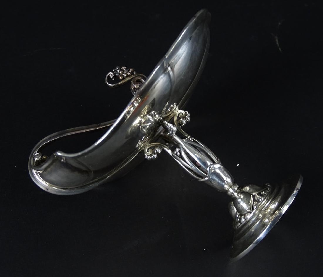 Antique Art Nouveau Sterling Silver Compote Dish - 2