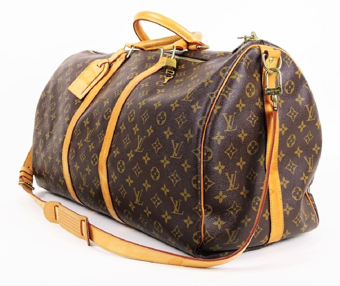 Louis Vuitton Monogram Keepall Bandouliere 55 - 4