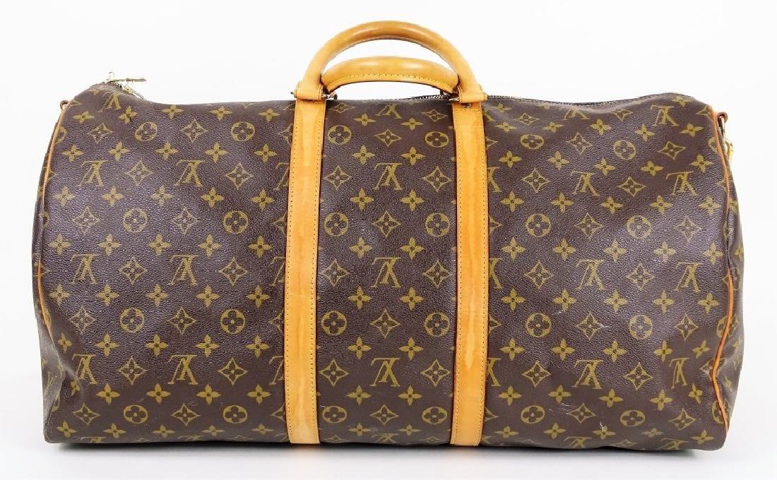 Louis Vuitton Monogram Keepall Bandouliere 55 - 5