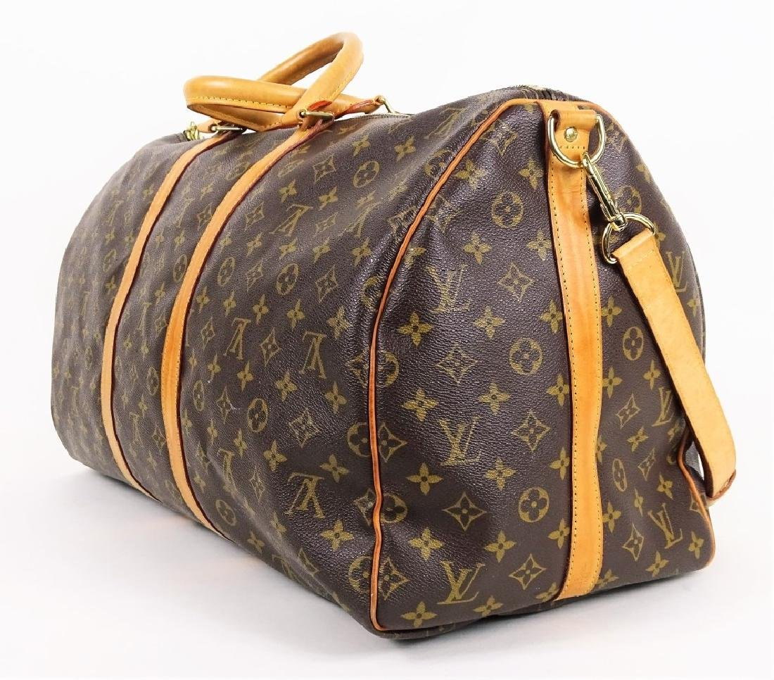 Louis Vuitton Monogram Keepall Bandouliere 55 - 6