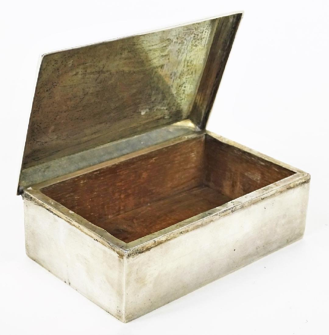 Webster Company Sterling Silver Tobacco Box - 2