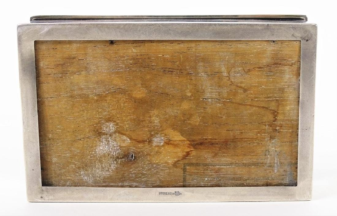 Webster Company Sterling Silver Tobacco Box - 3