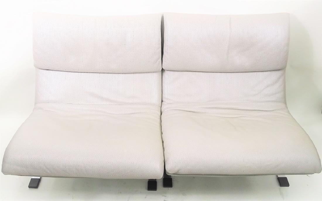 Two Fratelli Saporiti Italian Modern Lounge Chairs