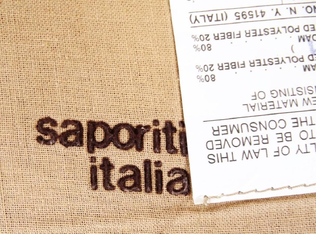 Two Fratelli Saporiti Italian Modern Lounge Chairs - 4