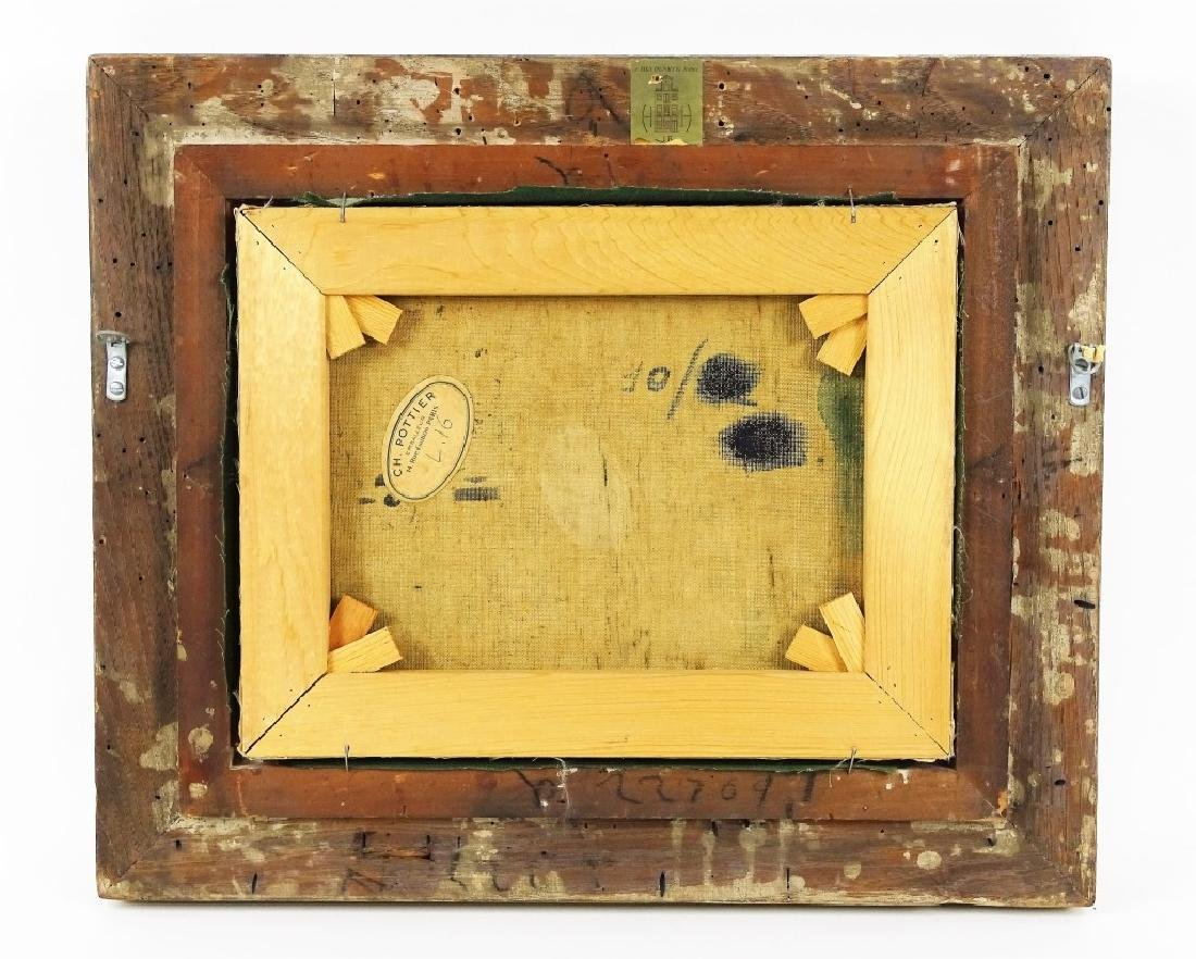 "Gertrude O'Brady ""Le Canal"" Original Oil Painting - 4"