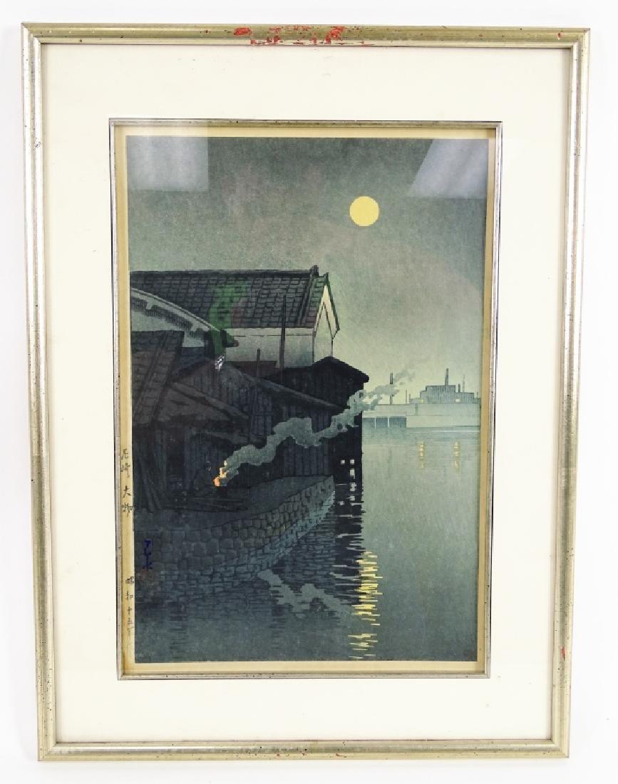 Hasui Kawase Original Japanese Woodblock Print