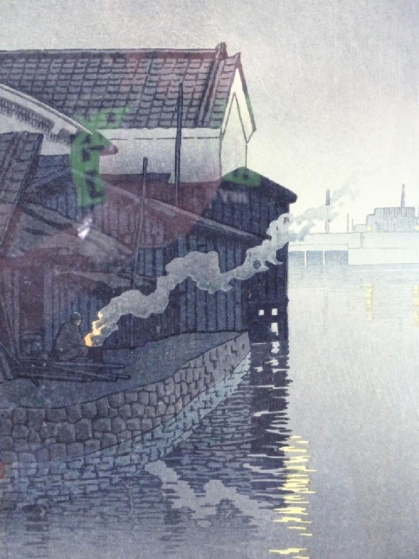 Hasui Kawase Original Japanese Woodblock Print - 2