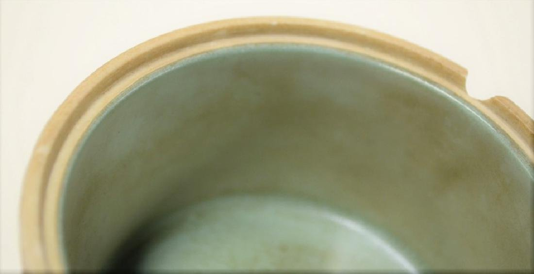 Chinese Stackable Famille Rose Porcelain Brush Pot - 8