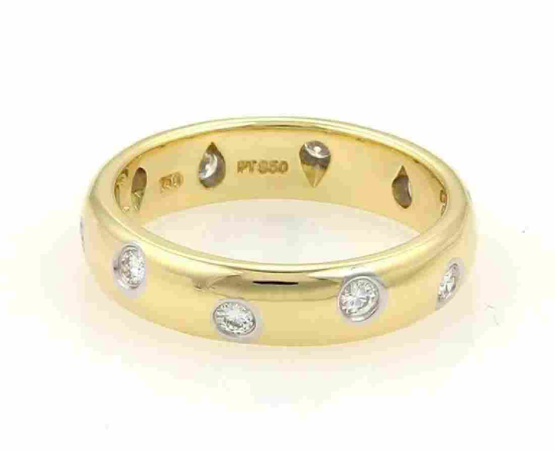 Tiffany & Co Etoile Diamond 18k Yellow Gold