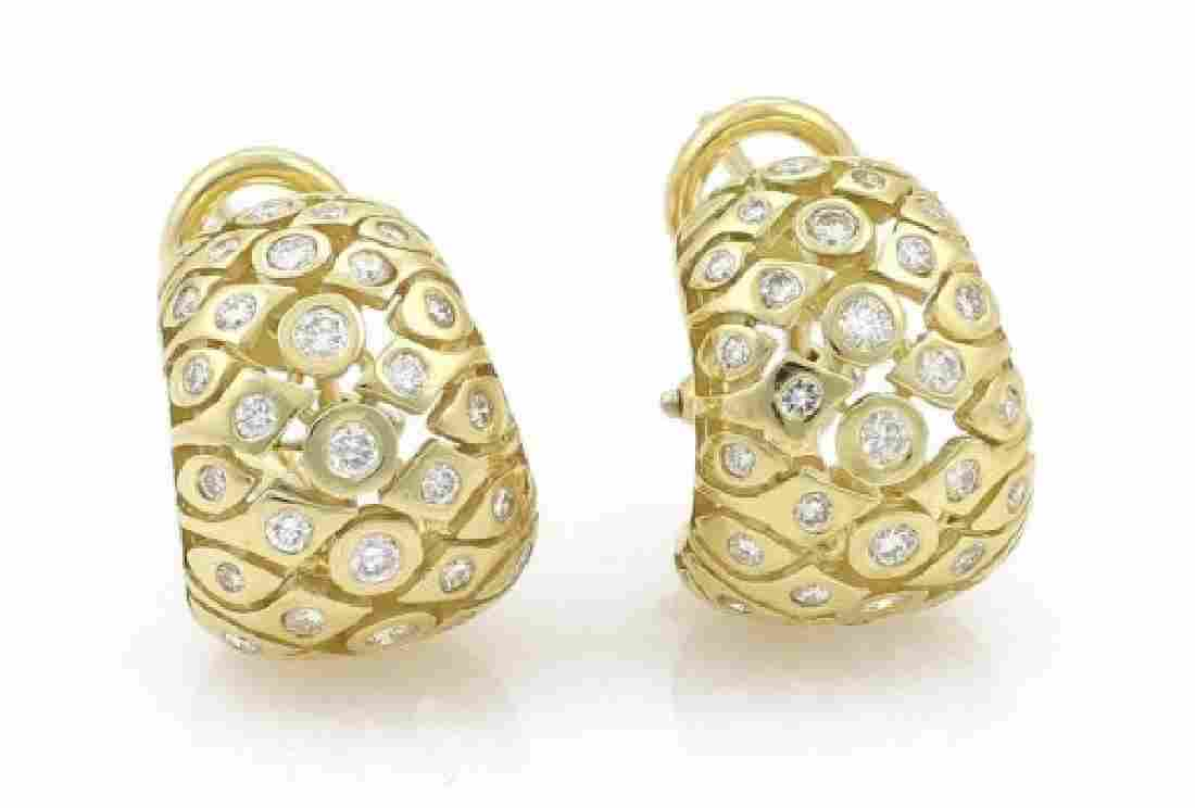Seidengang 1.25ct Diamond 18k Yellow Gold Fancy Hu