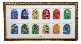 Marc Chagall Original Litho Collage Collection