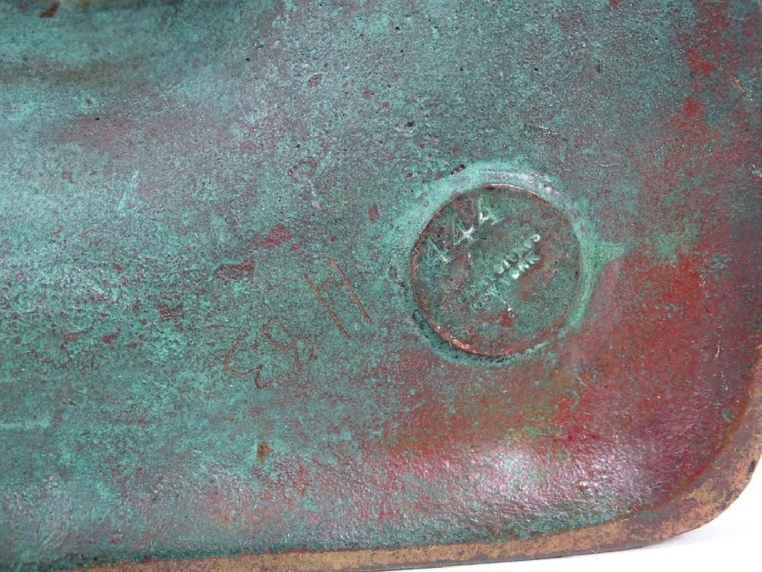 Tiffany Studios Roman Leaded Glass Bronze Lamp - 10