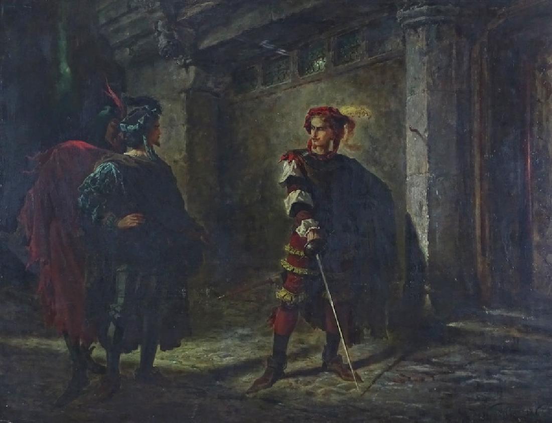 Alphonse Marie de Neuville Original Oil Painting
