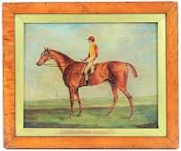 Henry G. Alken English Equestrian Oil Painting