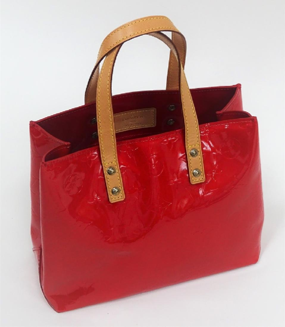 Louis Vuitton Red Vernis Leather Brentwood Tote - 2