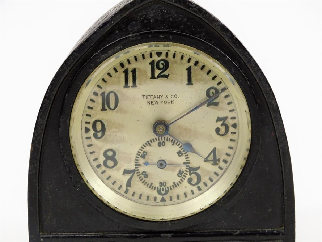 Tiffany Studios Zodiac Desk Clock Circa 1910 - 2