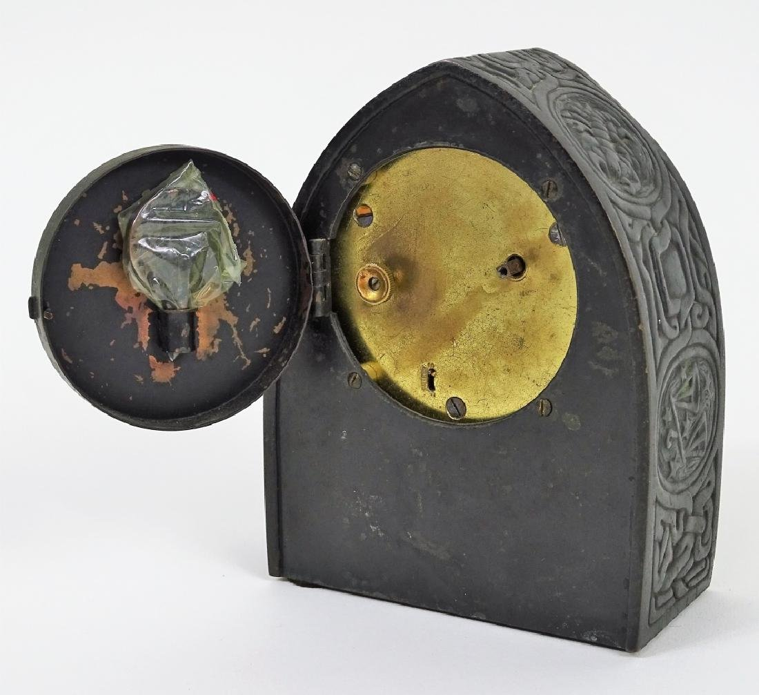 Tiffany Studios Zodiac Desk Clock Circa 1910 - 7