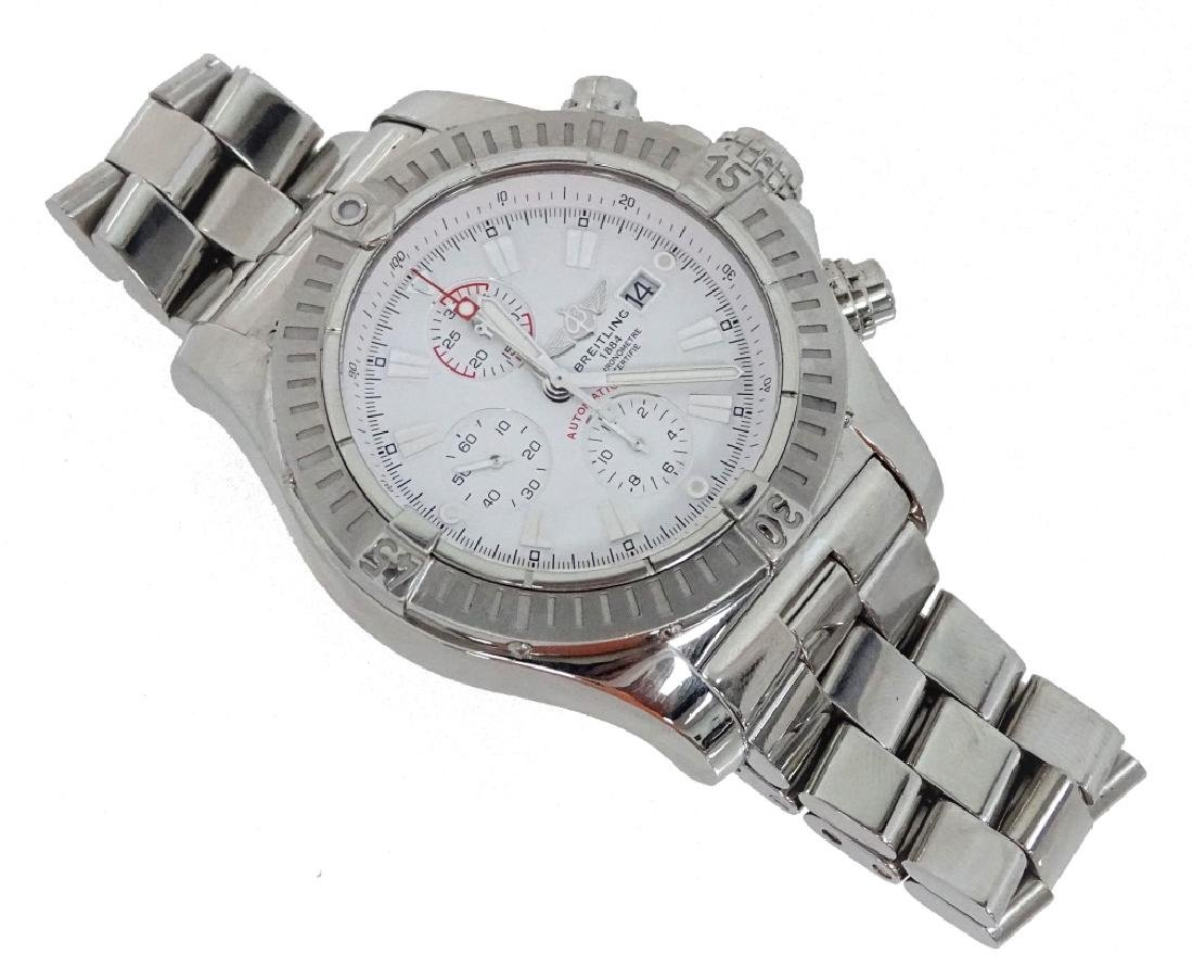 Breitling Super Avenger Chronograph Watch - 2