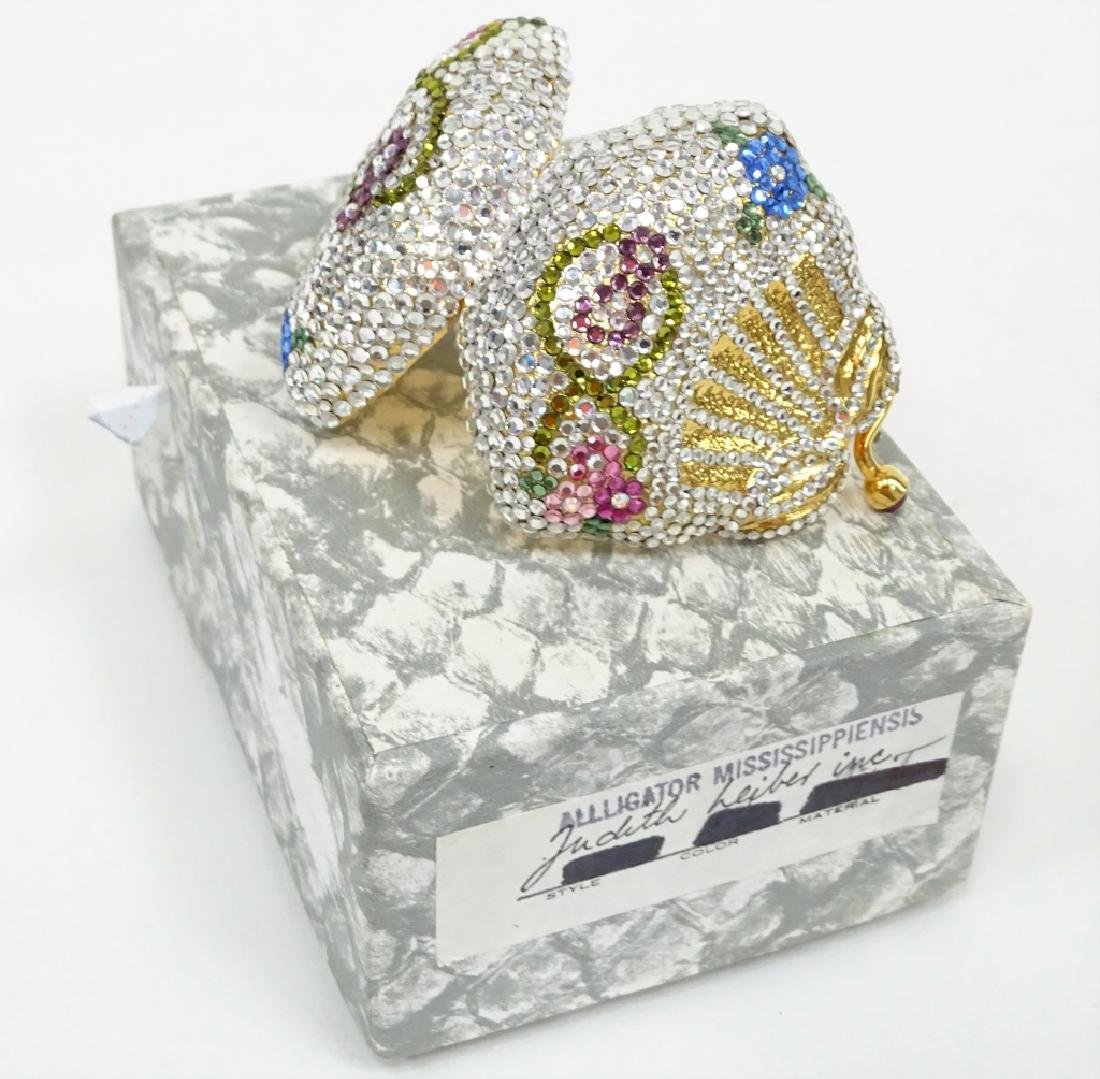 Judith Leiber Crystal Minaudiere Pill Box - 2