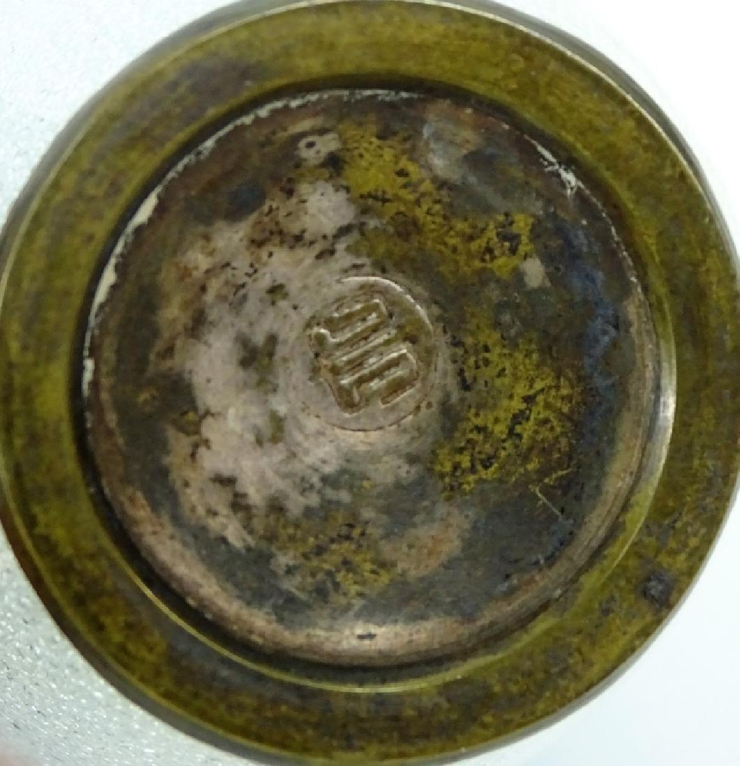 Japanese Enameled Cloisonne Bud Vase - 2