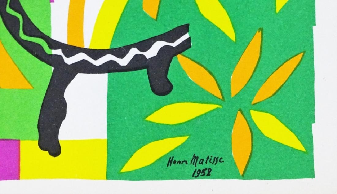 "Henri Matisse ""La Tristesse du Roi"" Lithograph - 2"