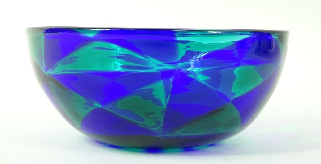Barovier Intarsia Murano Patchwork Art Glass Bowl - 4