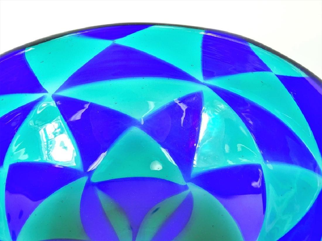 Barovier Intarsia Murano Patchwork Art Glass Bowl - 5