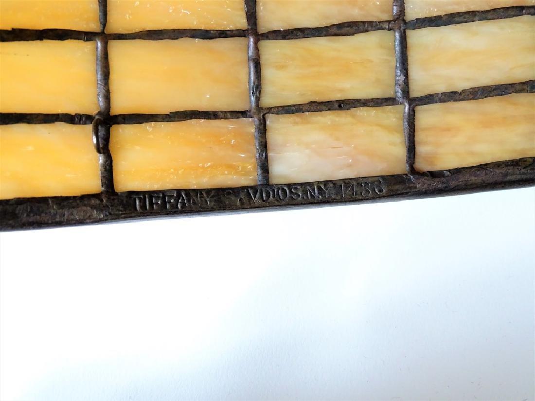 Tiffany Studios New York bronze mushroom table lam - 6