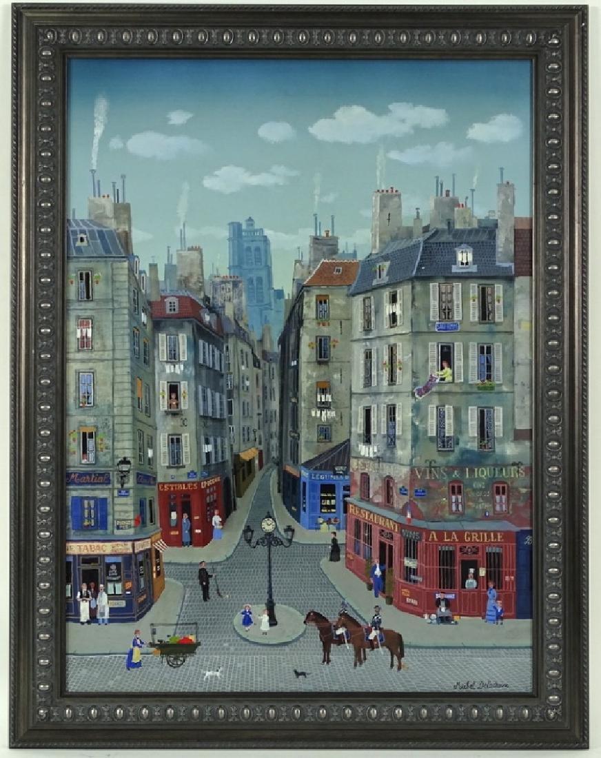 """Michel Delacroix (FRENCH, 1933) """"Les Gendarmes"""" - 10"""