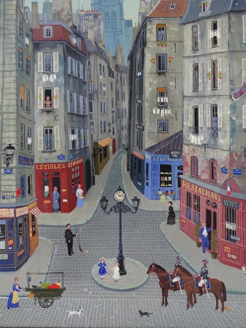 """Michel Delacroix (FRENCH, 1933) """"Les Gendarmes"""""""