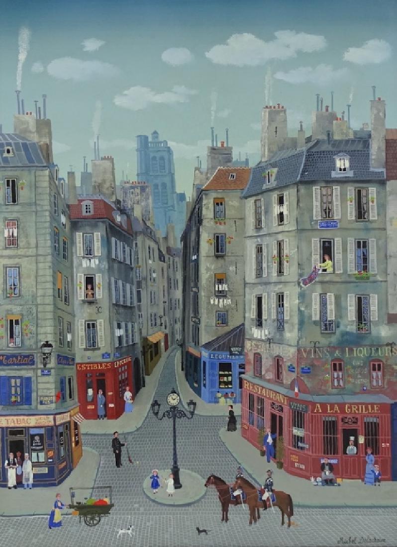"""Michel Delacroix (FRENCH, 1933) """"Les Gendarmes"""" - 2"""