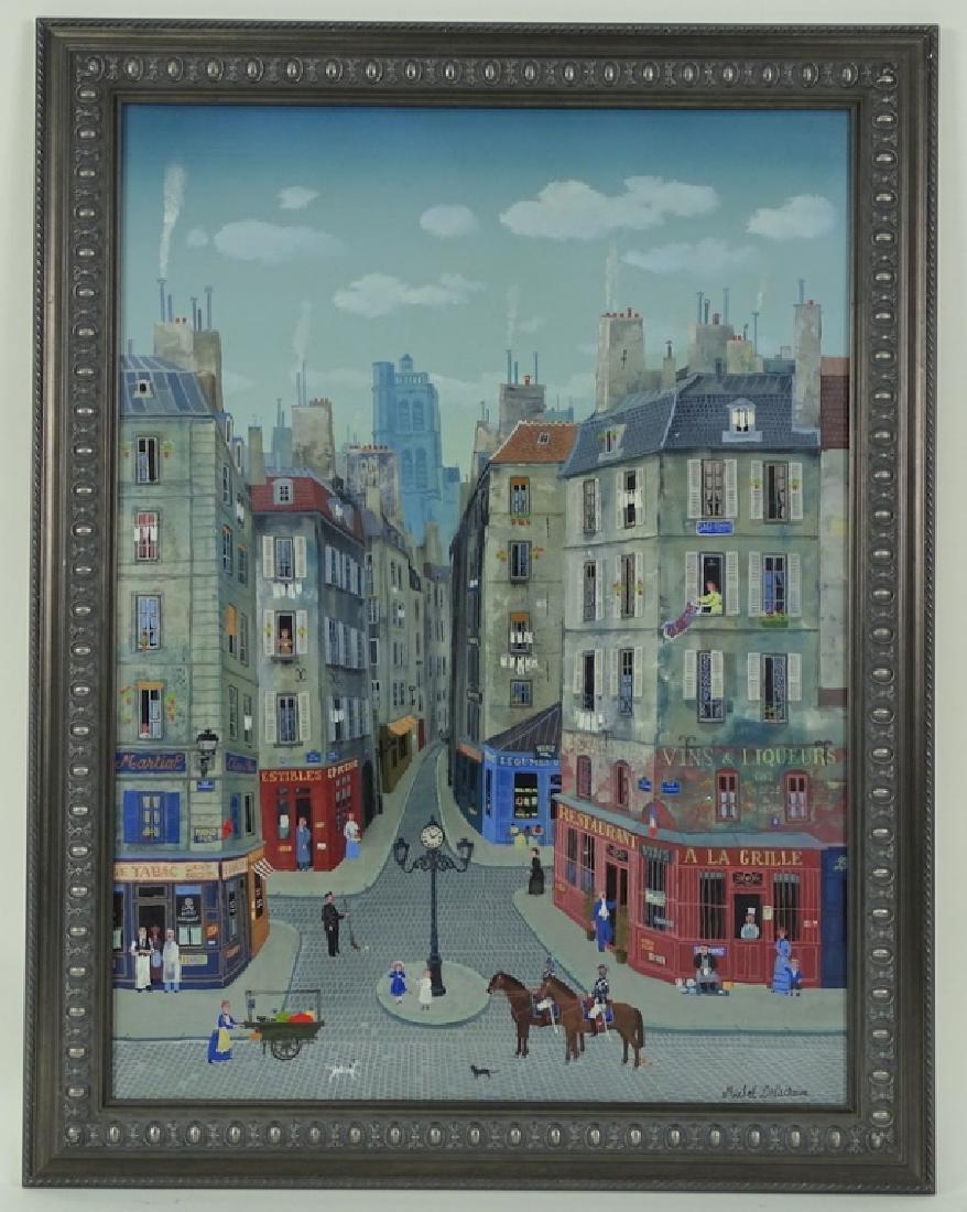 """Michel Delacroix (FRENCH, 1933) """"Les Gendarmes"""" - 3"""