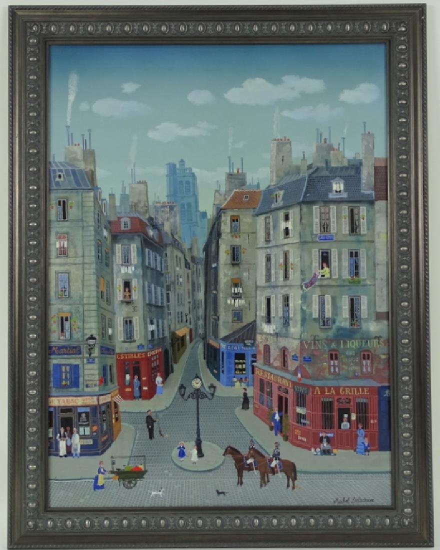 """Michel Delacroix (FRENCH, 1933) """"Les Gendarmes"""" - 4"""