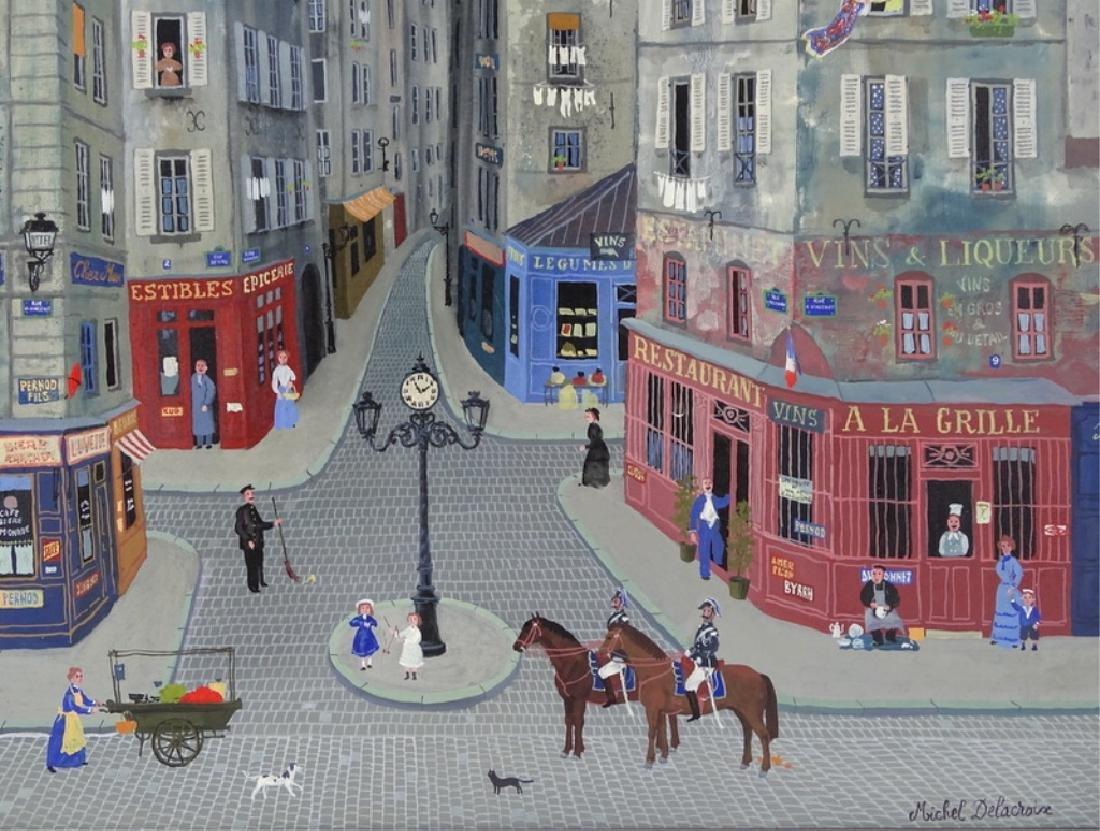 """Michel Delacroix (FRENCH, 1933) """"Les Gendarmes"""" - 5"""