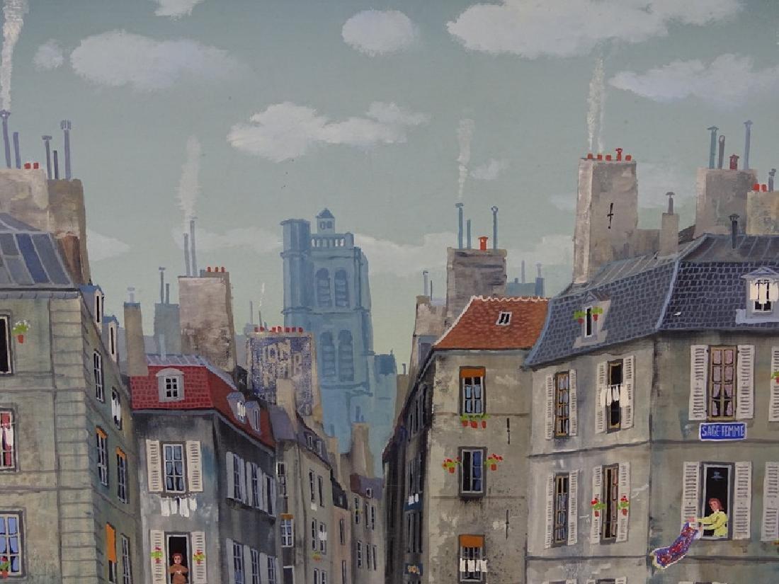 """Michel Delacroix (FRENCH, 1933) """"Les Gendarmes"""" - 7"""