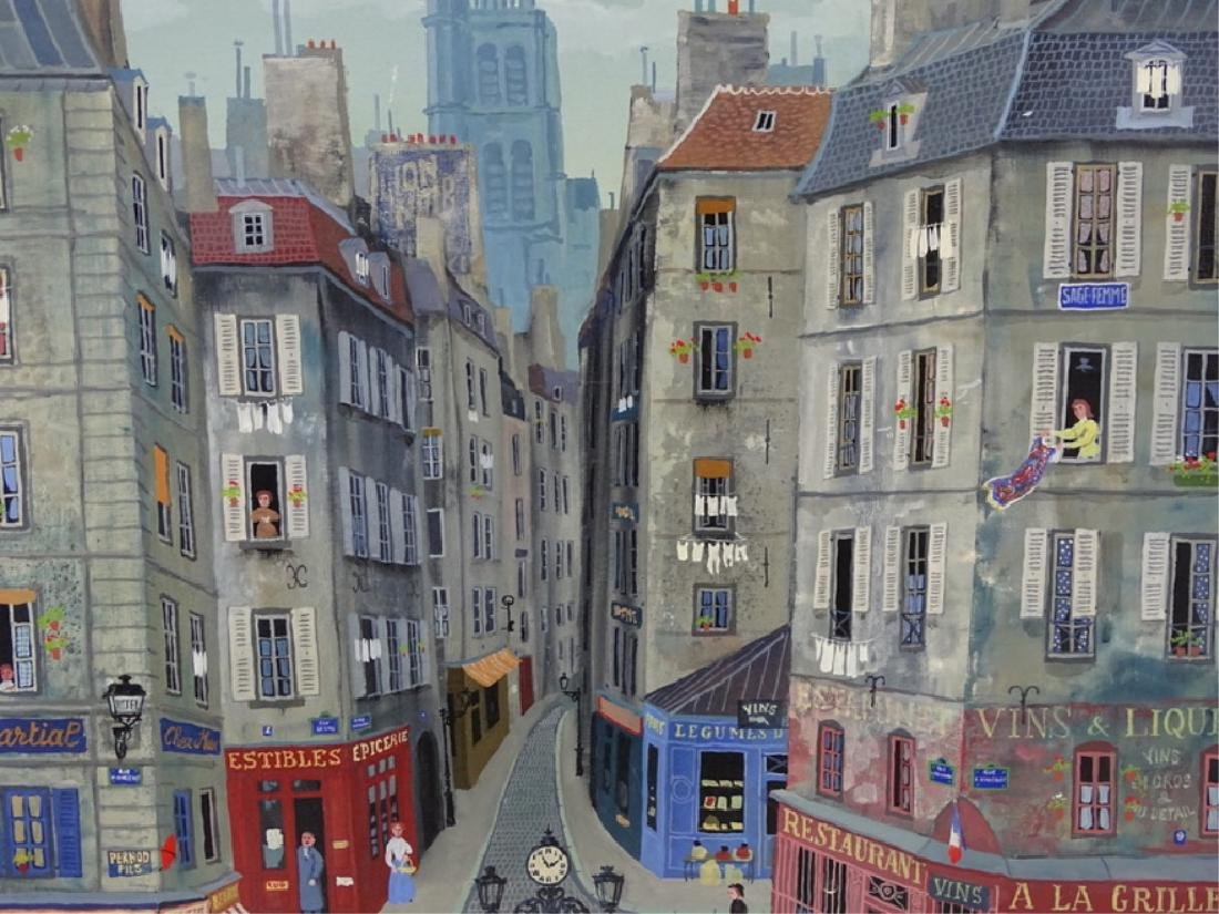 """Michel Delacroix (FRENCH, 1933) """"Les Gendarmes"""" - 8"""