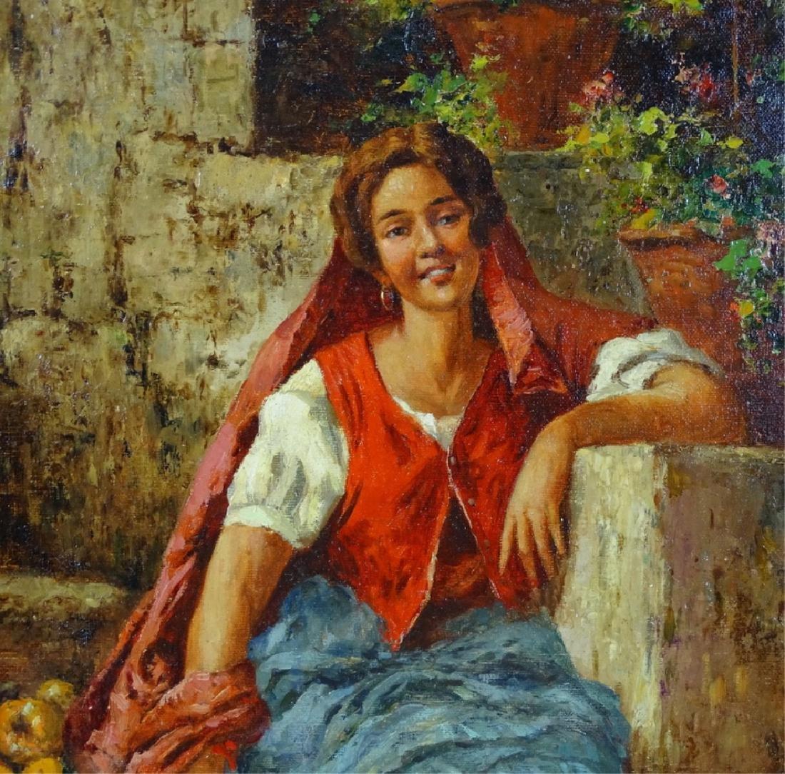 Manuel Jimenez Prieto (1848-1904) Oil Painting - 2