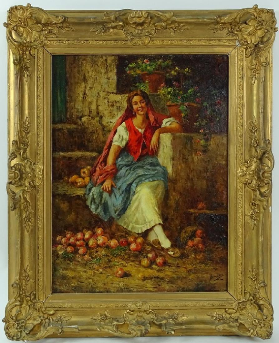 Manuel Jimenez Prieto (1848-1904) Oil Painting - 5