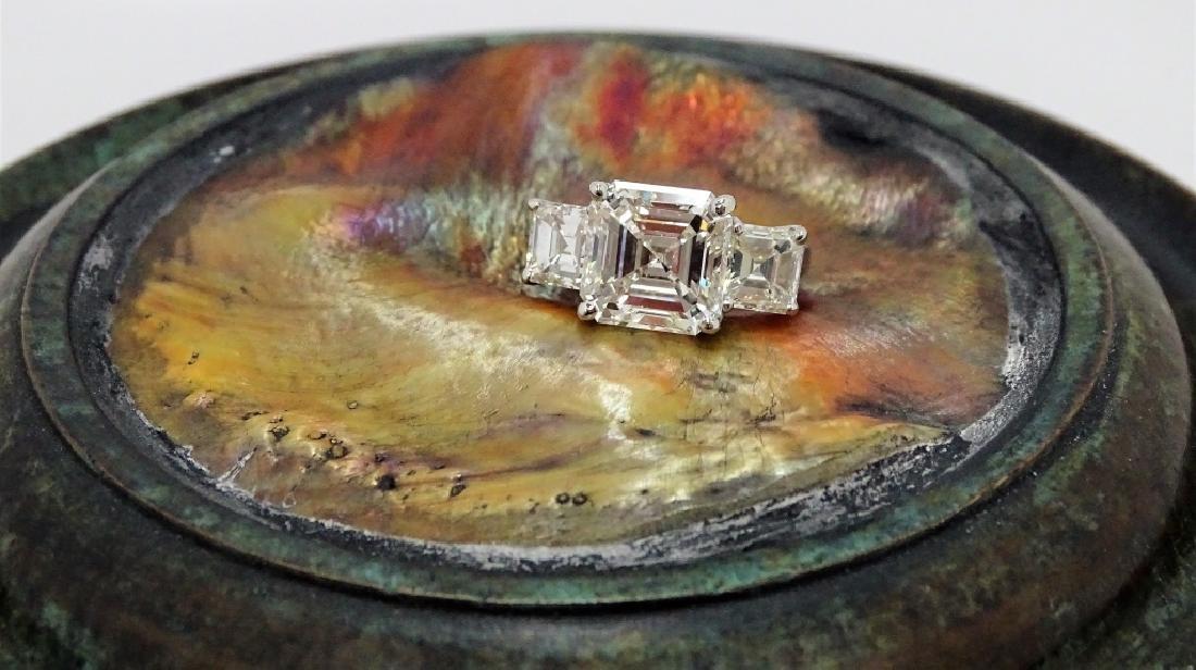 GIA Certified 5.77ct K/SI Emerald Cut Diamond