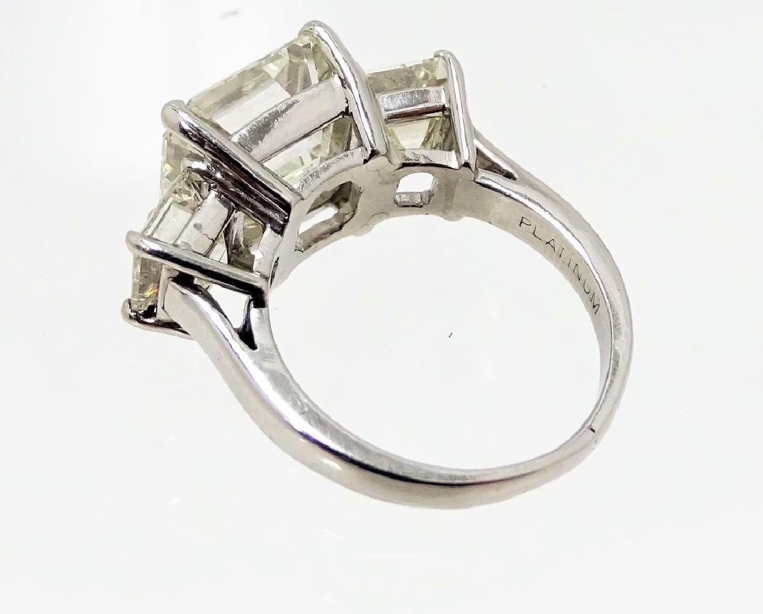 GIA Certified 5.77ct K/SI Emerald Cut Diamond - 3