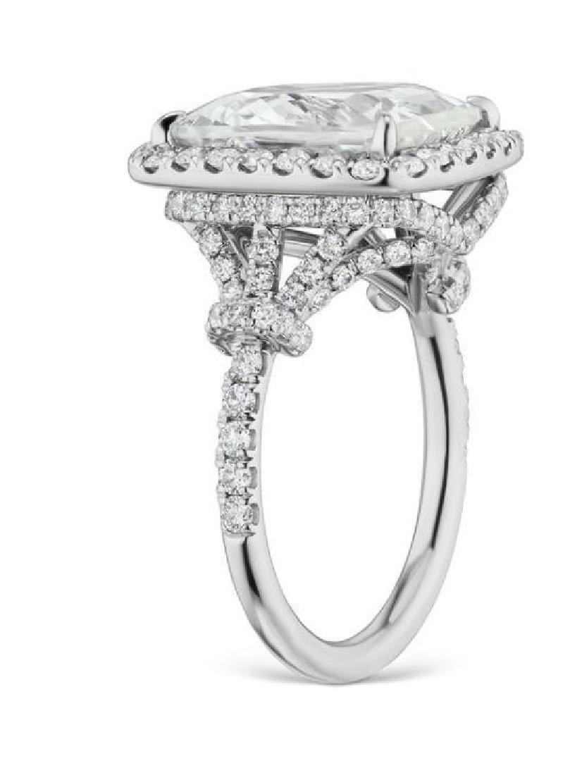 8.15ct YELLOW SAPPHIRE RING DIAMONDS GRS CERT. - 2