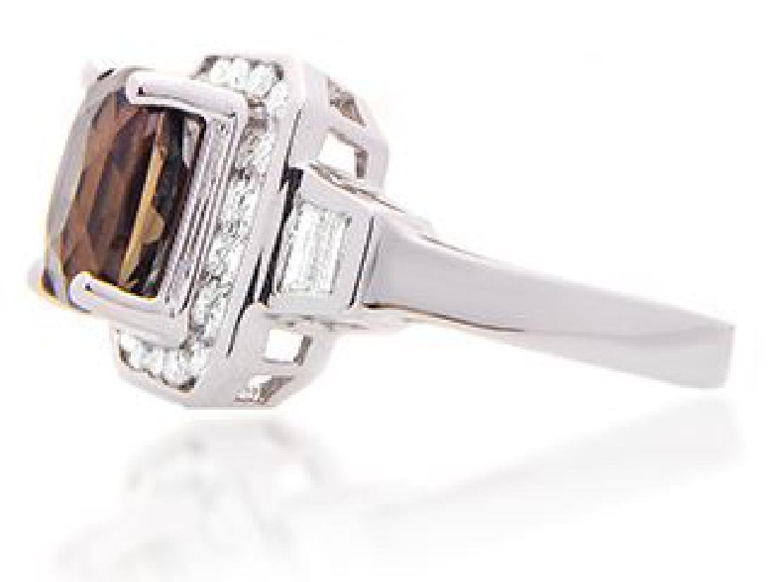 3.16ct ALEXANDRITE RING DIAMONDS AGTA CERT. - 2