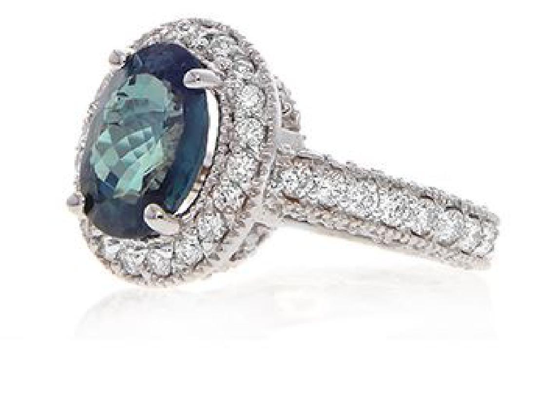 3.21ct ALEXANDRITE RING DIAMONDS C.DUNAIGRE CERT. - 2
