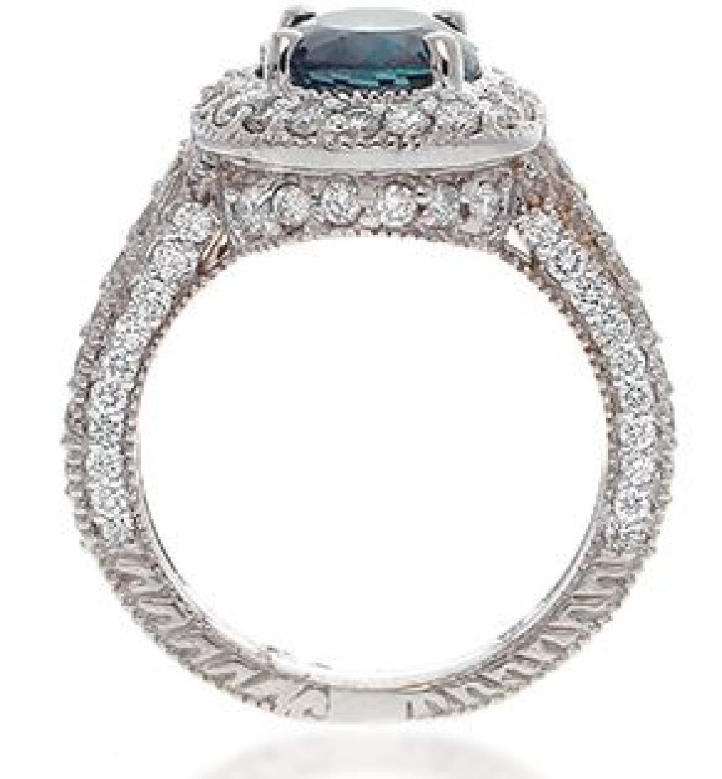 3.21ct ALEXANDRITE RING DIAMONDS C.DUNAIGRE CERT. - 3