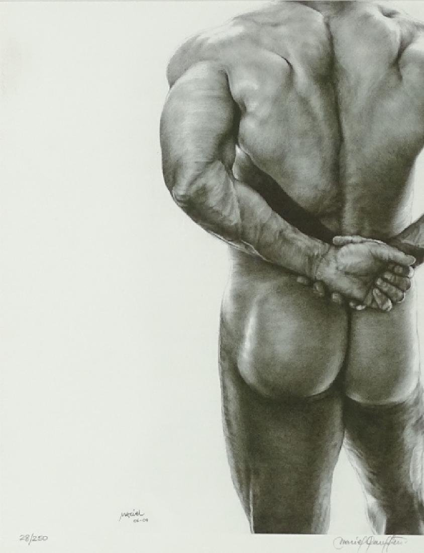 Artist Unknown, Photograph, Nude Male