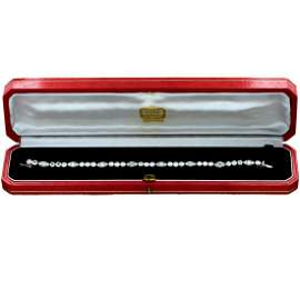Cartier Cartier 1950's Diamond Platinum Bracelet