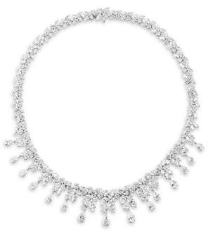 58.75ct WATERFALL DIAMOND NECKLACE