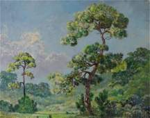 Large Geoffrey Bate Florida Painting